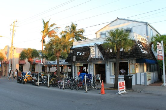 Two Friends Patio Restaurant Outside View & Outside View - Picture of Two Friends Patio Restaurant Key West ...