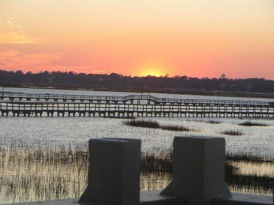 How beautiful is this picture of gulfstream cafe garden city beach tripadvisor for Gulfstream restaurant garden city sc