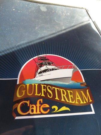 The menu picture of gulfstream cafe garden city beach tripadvisor for Gulfstream restaurant garden city sc