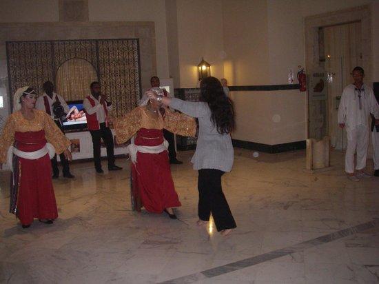 Hotel Palace Royal Garden: soirée tunisienne