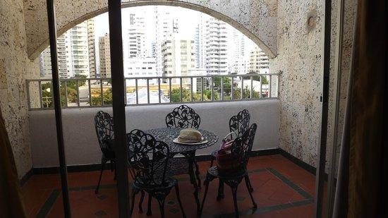 Hotel Barlovento: Terraza de la habitación