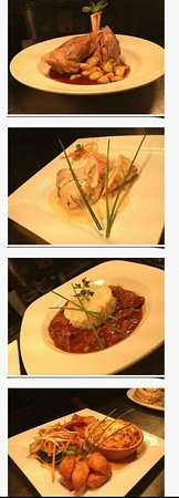 Parkers Restaurant: Some of our tasty dishes we have to offer!