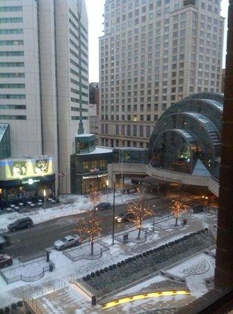 Hyatt Regency Indianapolis: view from room 532