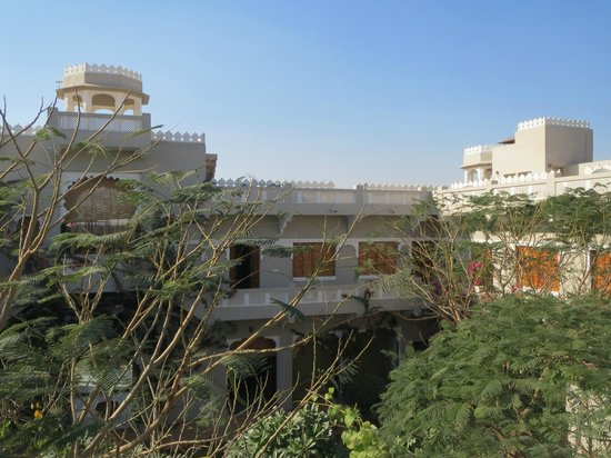 Barsingha Villa : view from a roof top terrace
