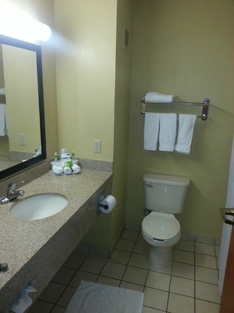 Holiday Inn Express Suites Vinita: 4 outlets (2 panels with 2 each)