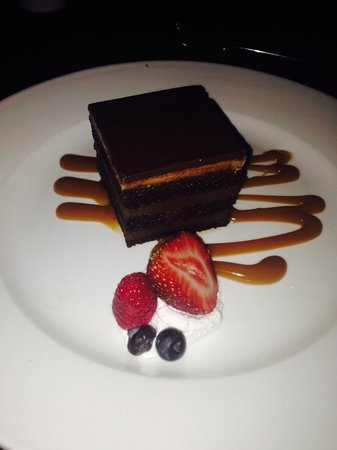 Bel Air Collection Resort & Spa Cancun: Amazing chocolate cake ... Highly recommend