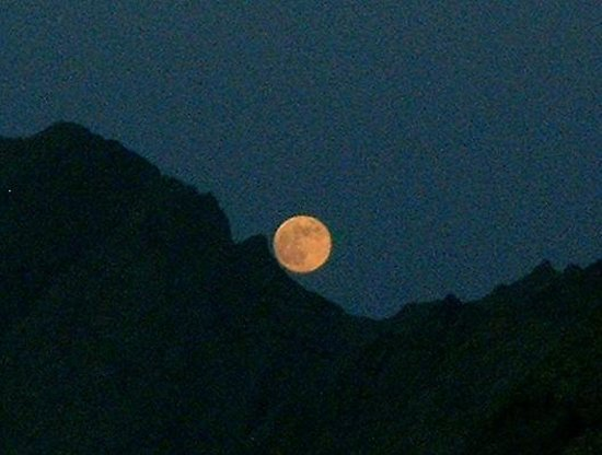 Kandahar Province, Afghanistan: Full Moon