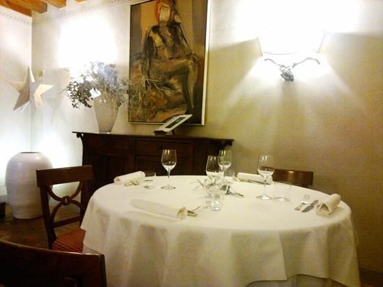 Ristorante La Dogana: saletta romantica..