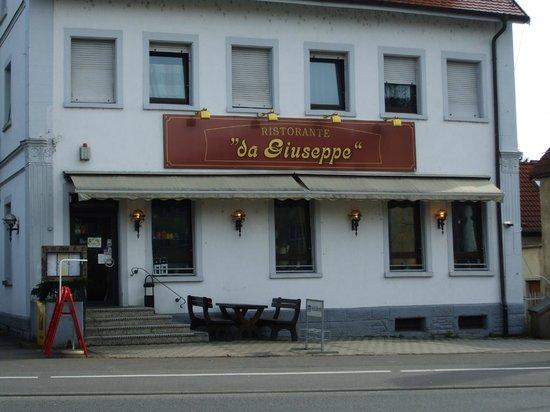 Ristorante da Giuseppe : Front restaurant exterior