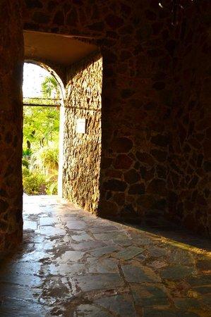 Bluebeard's Castle Resort: Inside the historic tower of Bluebeard's Castle.