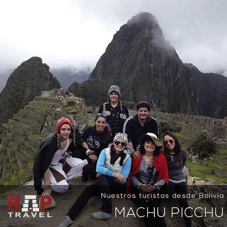 Rap Travel Peru: Visitantes en Machu Picchu