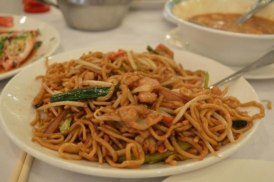 Great Eastern Restaurant : Fresh noodles,