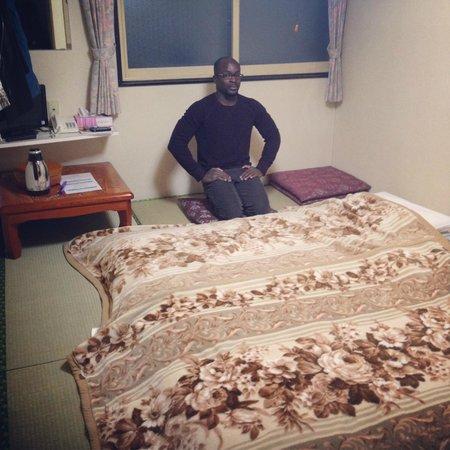 Lodge Koropokkuru: tatami beds