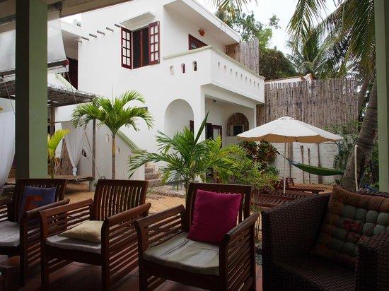 Haven Vietnam: 2nd Floor Balcony of our Room