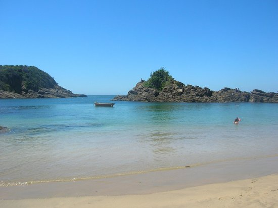 Ferradurinha Beach : Vista desde la playa