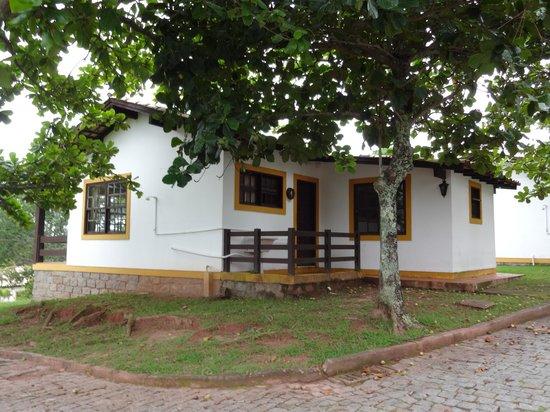Praia Mole Hotel: Vista frontal da cabana!