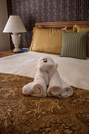Mountain Retreat Resort: Master Bedroom