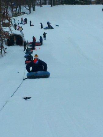 christmas mountain village tube hill - Christmas Mountain Tubing