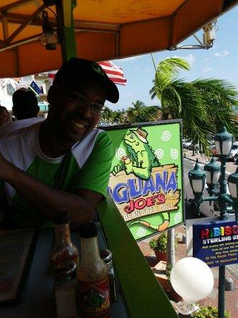 Iguana Joe's Caribbean Bar & Grill: Excelente...