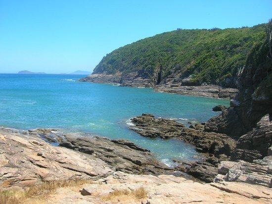 Foca Beach : Vista desde las piedras