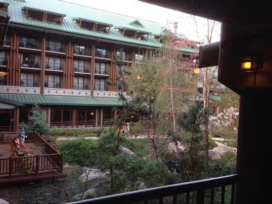 Disney's Wilderness Lodge : balcony view