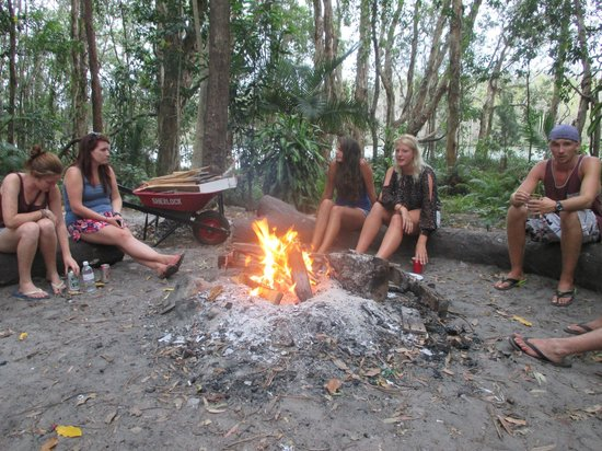 Gagaju Bush Camp : Bonfire
