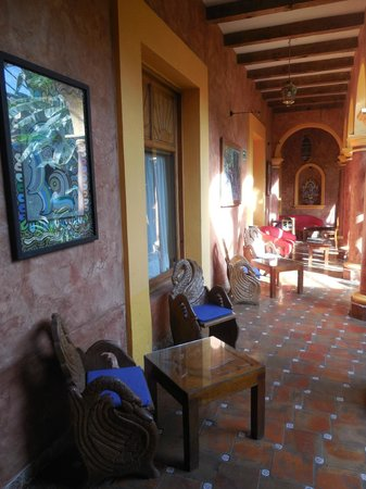 Hotel Casa Mexicana: patio