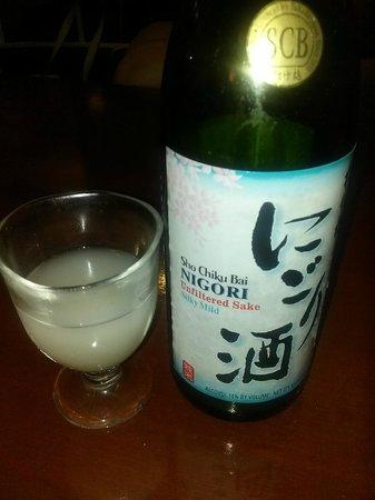 Sushi Shiono: Sake