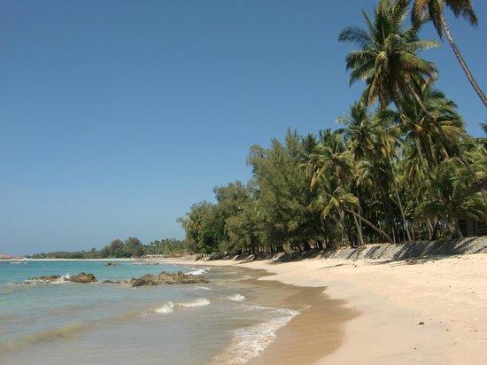 Ngapali Beach : Beautiful beach