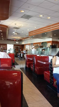 Ruby's Diner in Los Angeles, CA