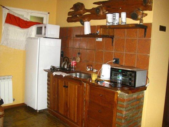 Arroyo Escondido: Cocina comedor