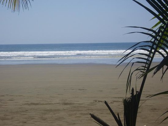 La Ballena Roja Guest House Hotel: 5 minute walk from our room