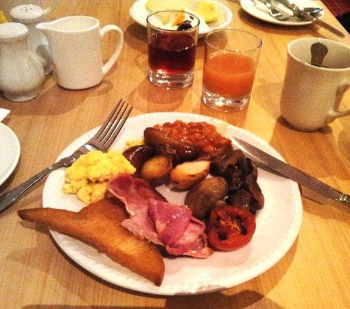 Mercure Bolton Georgian House Hotel: All u can eat breakfast in brunch time