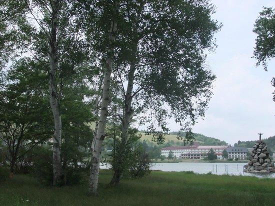 Lake Shirakaba-ko: 湖