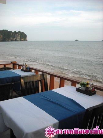 Sala Bua & Lo Spuntino Restaurant: ริมระเบียงชมวิว