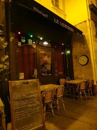 Le Vertbois: A fachada