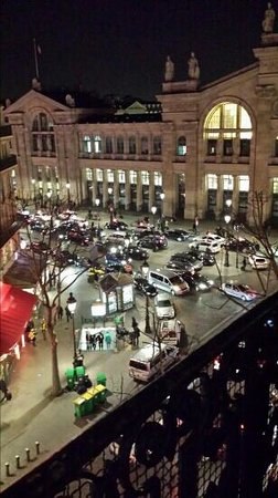 Mercure Paris Terminus Nord : View from our room!