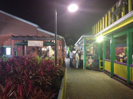 Agave Lucaya : Agave restaurant at night