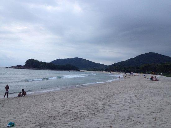 Camburizinho Beach : Fim de tarde