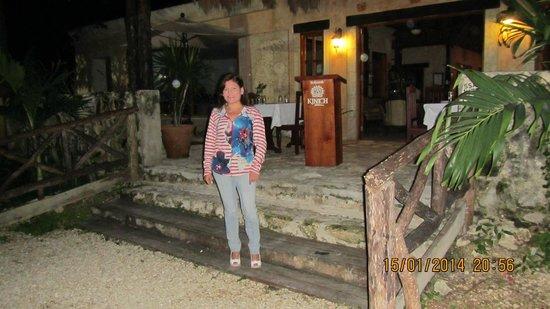 Kinich Tulúm : Entrada restaurante