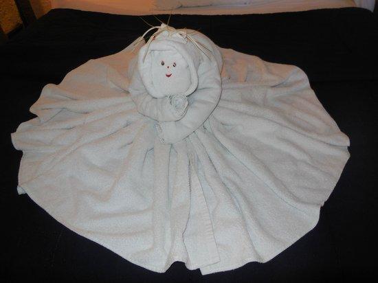 Poc-na Tulum: serviette de bain