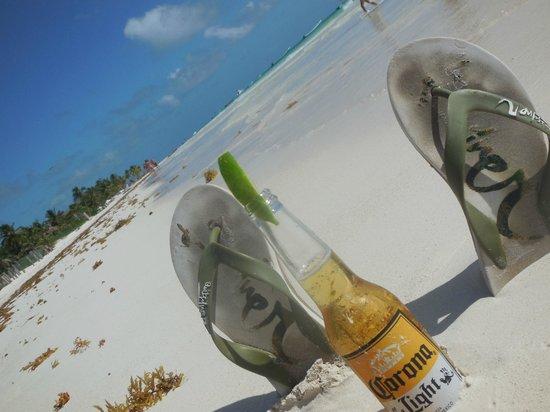La Vita e Bella : une bonne bière sur la plage