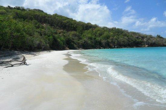 Hermitage Bay: Private Beach