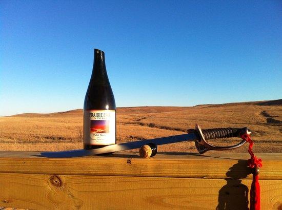 Prairie Fire Winery: Taste the Flint Hills!