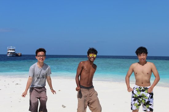 Narnia Maldives: Sandbank excursion