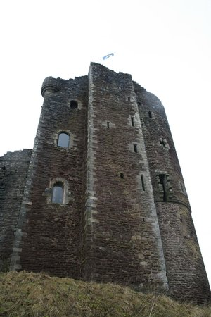 Doune Castle: Closer view