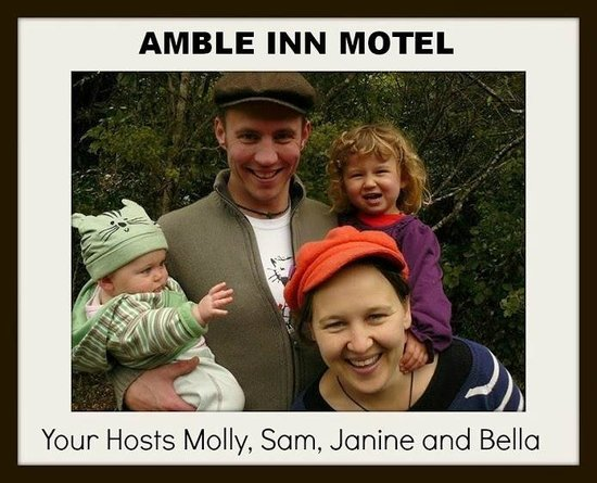 Amble Inn Motel : Mastertons' only family-owned and operated motel