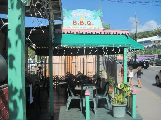 Uncle Joe's Barbecue: seating