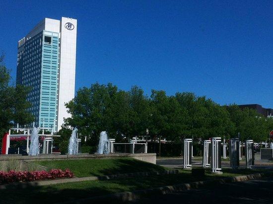 Hilton Lac-Leamy : Vista del hotel