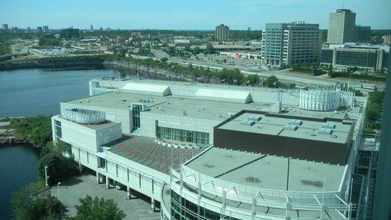 Hilton Lac-Leamy : Vista desde el Hotel